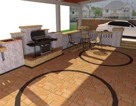 #3 untuk Backyard patio design oleh shahidullah79