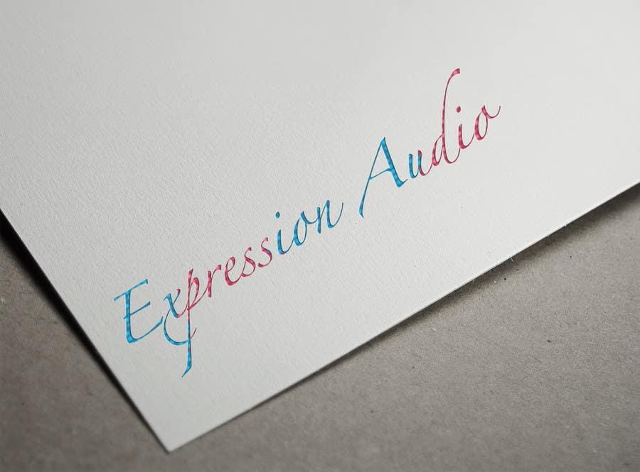 Bài tham dự cuộc thi #                                        58                                      cho                                         Design a Logo for Expression Audio