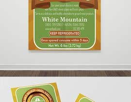 "#71 for 3""x4"" Vertical Food Product Label for White Mountain Foods by mohamedgamalz"