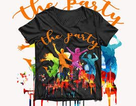 "#93 для T-shirt design ""The Party"" от royg7327"