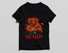 "#85 для T-shirt design ""The Party"" от golamrahman9206"