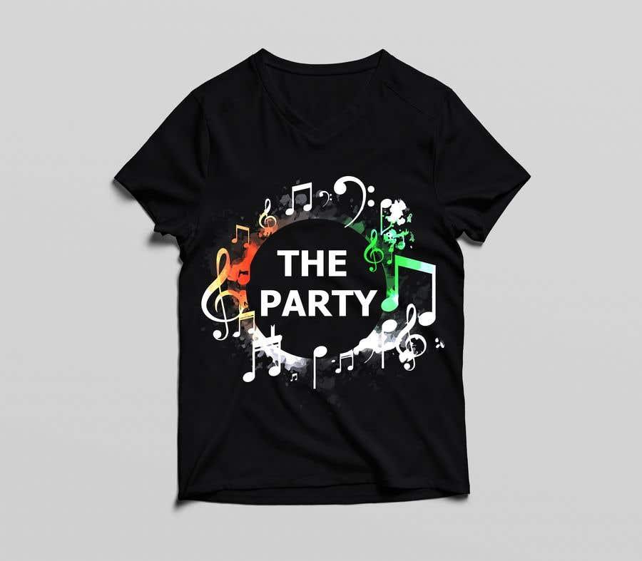 """Kilpailutyö #87 kilpailussa T-shirt design """"The Party"""""""