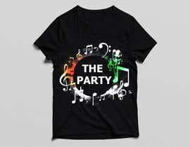 "#87 для T-shirt design ""The Party"" от golamrahman9206"