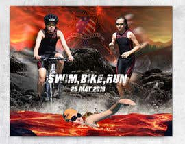 #29 untuk Triathlon Sports Poster Design oleh AdsignSolution