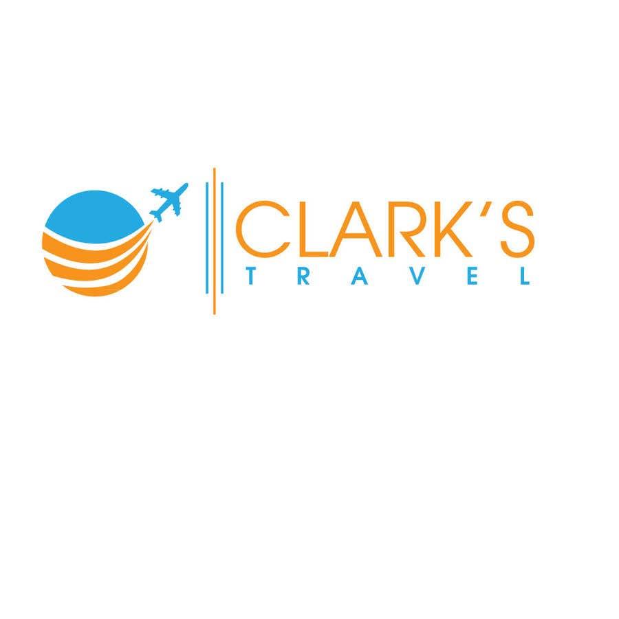 Penyertaan Peraduan #28 untuk Clark's Travel Logo