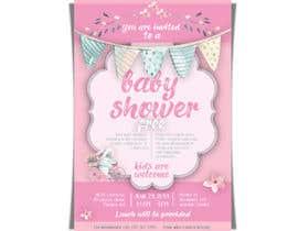 #45 untuk Baby shower flyer oleh LaGogga