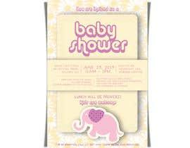 #46 untuk Baby shower flyer oleh LaGogga