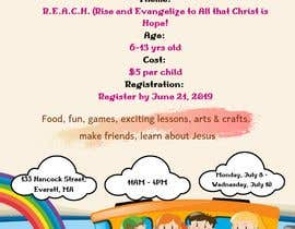 nº 58 pour Vacation Bible School Flyer par NabilaNazir