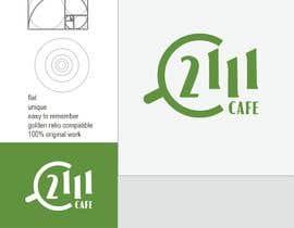 #128 untuk Café 2111 logo oleh nimafaz