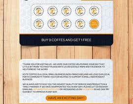 naveedahm09 tarafından Design loyalty card for coffee shop için no 46
