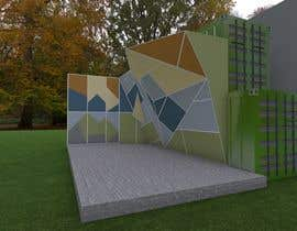 sandraquiros tarafından Geometric Pattern Mural Design For A Bouldering (Climbing) Wall için no 18