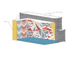 eudelia tarafından Geometric Pattern Mural Design For A Bouldering (Climbing) Wall için no 11