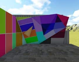 hamza001ghz tarafından Geometric Pattern Mural Design For A Bouldering (Climbing) Wall için no 26