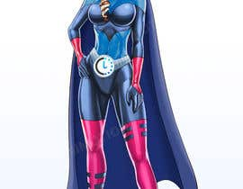 #24 for Realistic female superhero character - JP by lequidanimotion