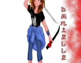 #18 pentru Make an Anime Style Female Character de către mohamedrr