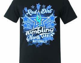 Nro 32 kilpailuun Tumbling team shirt design käyttäjältä stsohel92
