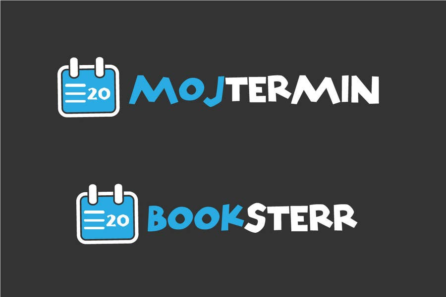 Konkurrenceindlæg #                                        105                                      for                                         Logo Design for Appointment Scheduling page (Booksterr, MojTermin)