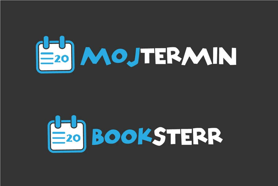 Konkurrenceindlæg #                                        107                                      for                                         Logo Design for Appointment Scheduling page (Booksterr, MojTermin)
