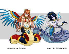 #67 for Fantasy Artists Needed for the Design of Two Female Nagas! by orrlov