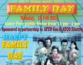 nº 7 pour Design a Flyer for Family Day par mahbubsuzon