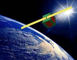Nro 25 kilpailuun Artistic view of a satellite käyttäjältä Govindg