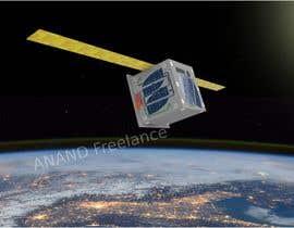 Nro 15 kilpailuun Artistic view of a satellite käyttäjältä anandvelandy3