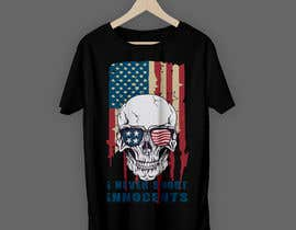 #45 for T shirt design for Americans Guns lovers af raihan397