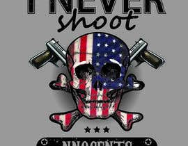 #68 for T shirt design for Americans Guns lovers af voltes098
