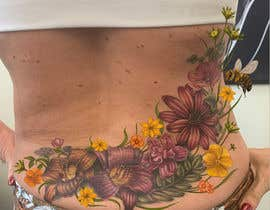 #5 for Design a Floral Design for Tattoo by grrimage