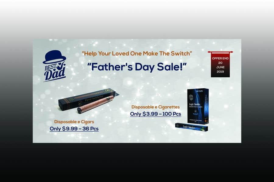 Kilpailutyö #44 kilpailussa Father's Day Sale Banner