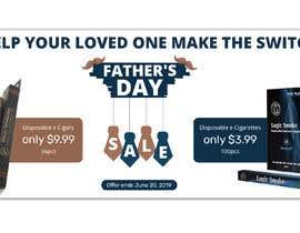 Nro 81 kilpailuun Father's Day Sale Banner käyttäjältä bdKingSquad