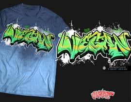 #42 untuk Graffiti designs for clothing oleh GribertJvargas