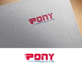 """#86 for Logo for a Transporation Company, """"PONY Express Ltd."""" af denistarcomreal"""