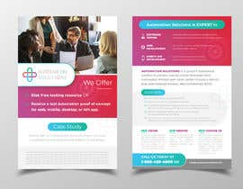 #30 для 5.5 x 8.5 two sided marketing brochure от darbarg