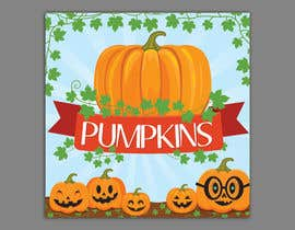 #34 for Sign for Pumpkin stand by dissha