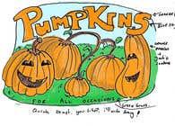 Graphic Design Konkurrenceindlæg #49 for Sign for Pumpkin stand