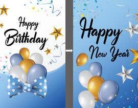 #119 untuk Corporate Birthday card & Happy  New Year oleh Babluislambd
