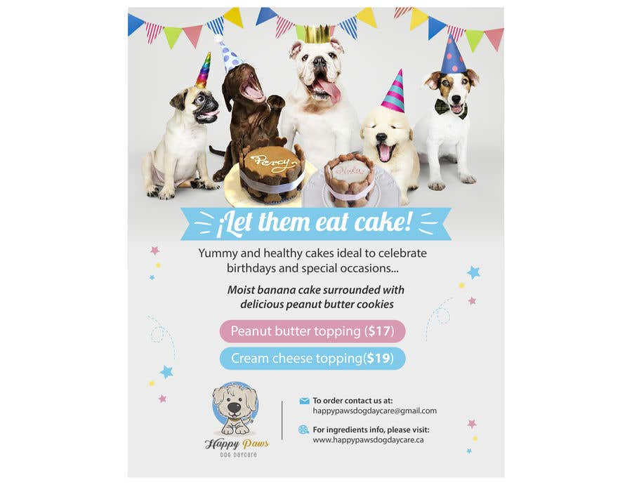 Contest Entry #88 for Cakes for dogs
