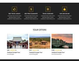 Nro 24 kilpailuun Website mokup design käyttäjältä akterfr