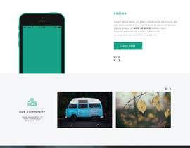 Nro 9 kilpailuun Website mokup design käyttäjältä Shamimuddin0