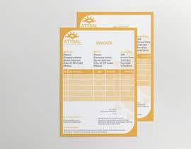 #5 untuk Design a letterhead and invoice template oleh lipiakhatun8