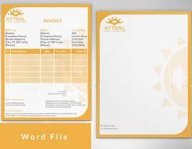 lipiakhatun8 tarafından Design a letterhead and invoice template için no 6