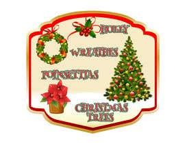 #31 cho Christmas Farm Sign bởi pgaak2