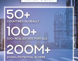 #3 cho 3 points to mention in every different design. 1. 50+ Countries Globally 2. 100+ Real Estate Portals 3. 200M+ Potential Buyers ( www.monopolion.com ) bởi Artcorecon