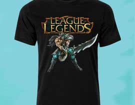 #17 para League of legends T Shirt de emastojanovska