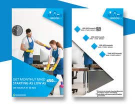 nº 143 pour Cleaning services - Flyer par freelanceworldin