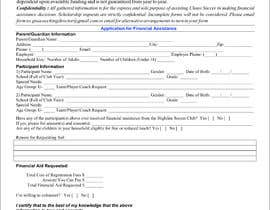 #7 for URGENT Need financial aid form created PDF by Anam03
