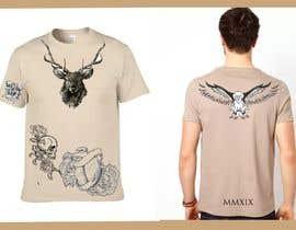 nº 17 pour Tattoo T-shirt for men par elezienes07