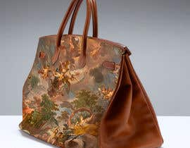 #7 untuk 3D model Hermès Birkin Bag with painting. oleh runningmoon