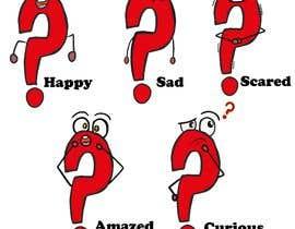Nro 9 kilpailuun Create a Question Mark cartoon character käyttäjältä JohnGoldx